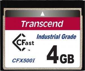 Transcend Industrial Temp CFast 4GB Card