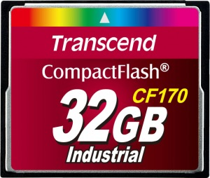 Transcend CF170 Compact Flash 32GB Card