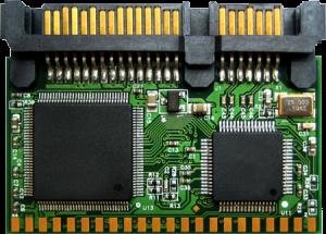 Transcend SATA Flash Modules - Vertical 1GB