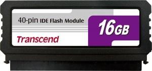 Transcend PATA Flash Module (40Pin Vertical) 16GB