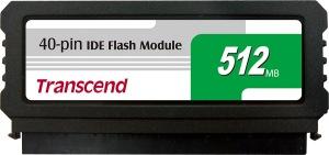 Transcend PATA Flash Module (40Pin Vertical) 512MB