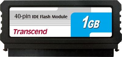 Transcend PATA Flash Module (40Pin Vertical) 1GB