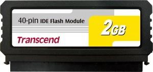 Transcend PATA Flash Module (40Pin Vertical) 2GB