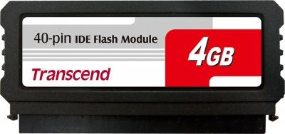 Transcend PATA Flash Module (40Pin Vertical) 4GB