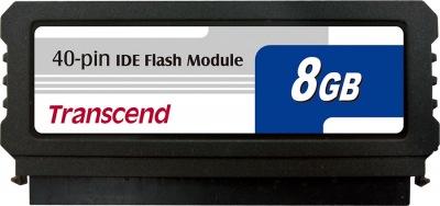 Transcend PATA Flash Module (40Pin Vertical) 8GB