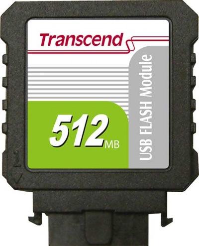 Transcend IDE Industrial USB Vertical 512MB Module