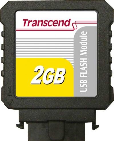 Transcend IDE Industrial USB Vertical 2GB Module