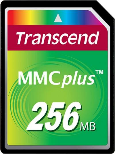 Transcend MultiMedia Card Plus 256MB Card