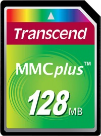 Transcend MultiMedia Card Plus 128MB Card