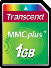 Transcend MultiMedia Card Plus 1GB Card