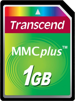 Transcend MultiMedia Card Plus 1GB Card