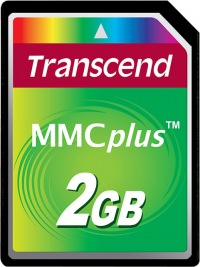 Transcend MultiMedia Card Plus 2GB Card